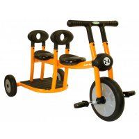 Pilot Orange Tricycle 2 Seat 200-10