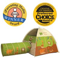 Jungle Safari Tent & Tunnel Combo 20435