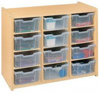 Preschool Big Bin Storage (READY TO ASSEMBLED)2471A