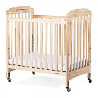 Next Generation Serenity Compact Crib with Fixed-side Rail and Slatted End Panel 2531043