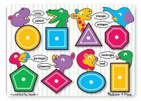 Shapes Peg Puzzle  Item #: MD-3285