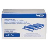 BROTHER LASER DRUM UNT 15K YIELD  Unit Set DR210CL