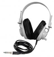 Deluxe Monaural Headphones CLF-2924AVC Clip-in Replaceable Coil