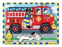Fire Truck Chunky Puzzle  Item MD- 3721
