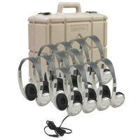 Classroom Twelve-Pack Multimedia Stereo Headphones 3060AVS-12