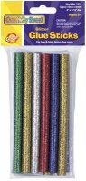 Glitter Glue Sticks - 12 Sticks - Assorted Colors CK-3352