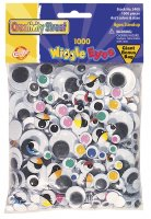 Wiggle Eyes Classpack - Assortments 1000 Pieces CK 3400