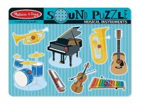 Musical Instruments Sound Puzzle  Item #:MD- 732
