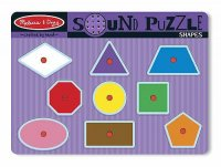 Shapes Sound Puzzle  Item #:MD- 728