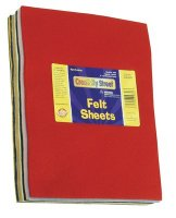 Felt Sheets - 1 Pound Bag Assortment CK-3904