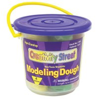 4 Colour 1 lb Modeling Dough CK-4094