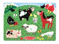 Farm Animals Peg Puzzle  Item #:MD- 3383