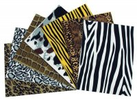 "WonderFoam® Animal Print Sheets - 10 Pcs - 9"" X 12"" CK-4332"