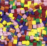 WonderFoam Mosaic Tiles - 500 Pcs CK-4338