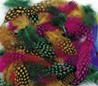 Spotted Feathers - Multi Colored Classpack -  2.5 oz- Assortments CK-4508Classpack -  2.5 oz