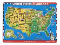 United States of America Sound Puzzle  Item #:MD- 715
