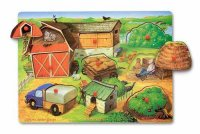 Farm Hide And Seek Peg Puzzle D54-371