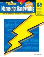Traditional Manuscript Handwriting Power Practice Series CTP-8300EB