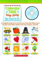 Calendar Time Sing-Along Flip Chart & CD S4957