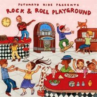 Putumayo Kids Rock and Roll Playgrounds CD BF-9781587592515