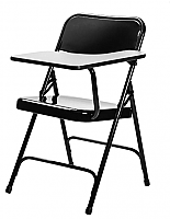 Premium Folding Chair with Left Tablet Arm 5210L