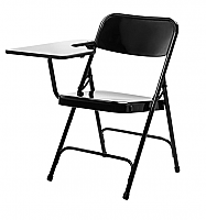 PREMIUM FOLDING CHAIR WITH RIGHT HAND TABLET ARM 5210R