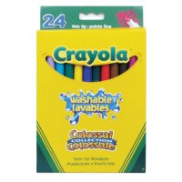 Crayola® Washable Thin Tip Markers (24/pk, Colossal) 56-8524