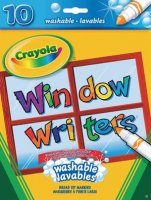 Crayola® Window Writers Markers (10/pk) 56-9704