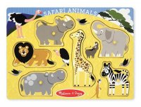 Safari Animals Peg Puzzle  Item #:MD- 3385