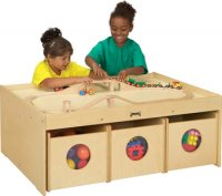 ACTIVITY TABLE W/6 BINS - 5752JC