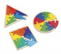 Shapes & colours puzzle maxi pack A07-5759