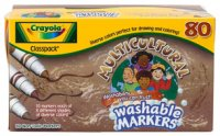 Crayola Multicultural Markers Classpack 58-8217