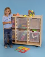 Melamine Quad Storage Unit  SWT-608N