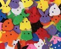 Animal Face Buttons - 70 Color Pcs CK6601