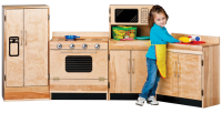 HARDWOOD KITCHEN SET (4 PIECE) 701234