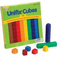 100 Unifix Cubes/10 Each Of 10 Colors DD-2-25W