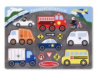 Transportation Peg Puzzle  Item #:MD- 3386