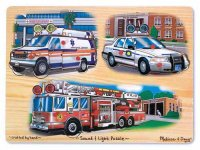 Emergency Vehicles Light and Sound Puzzle  Item #:MD- 2760