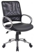MESH BACK TASK CHAIR NAVY B6406