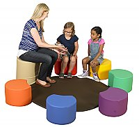 Painter's Stools with Teacher's Seat & Mat CF805-011
