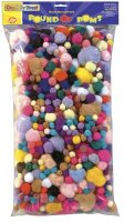 Pound of Poms - 1 Pound  Bag Assortment CK8180-01