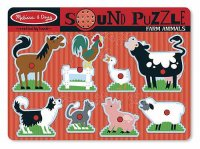 Farm Animals Sound Puzzle  Item #:MD- 726