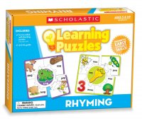 Rhyming Learning Puzzles, Multiple Colors S-TF7154