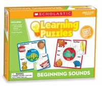 Beginning Sounds Learning Puzzles, Multiple Colors S-TF7151
