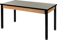 "Science Classroom Table - 1"" Thick Acid Resistant Laminate 48"" Wide/20"" Deep/30 High 84110 Z20 (21)"