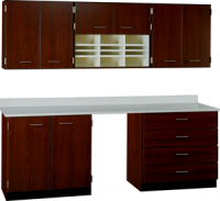 "90"" Wide Deluxe Work Suite with Locks (COLORS OPTION AVAILABLE) 84514 F90"
