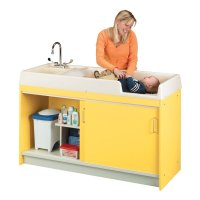 Infant Changing Center - Left Hand (Assembled) COLOUR OPTION AVAILABLE 8539A