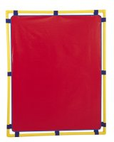 "Big Screen PlayPanel® 60""x48"" Red CF900-517 R"