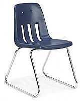 "Sled Base Chair 12""Seat Height (Color Option Available) 9612"