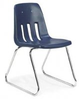 "Sled Base Chair 18""Seat Height (Color Option Available) 9618"